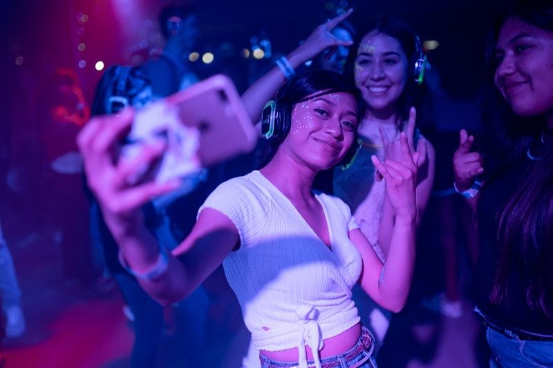 Selfie til koncert